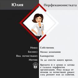 Юлия - Перфекционистката