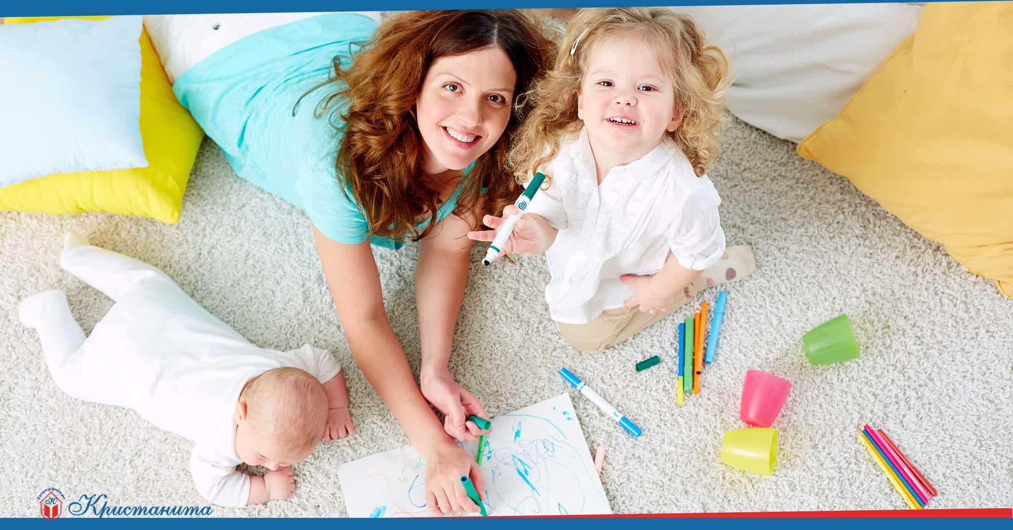 най-подходящата детегледачка
