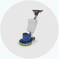 Еднодискова машина за подово почистване
